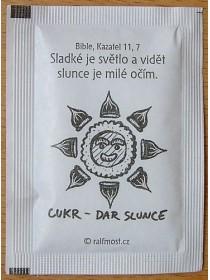 Cukr sáčkový (slunce)