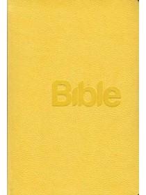 Bible 21 nová, koženka žlutá