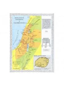Nástěnné biblické mapy - zalaminované