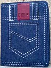 Bible ČEP s DT - zip, jeans