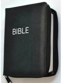 Bible ČEP + DT - zip, černá (1147)