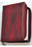 Bible ČEP + DT - zip, vínová (1149)
