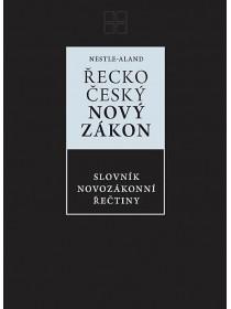 Řecko-český Nový zákon, Slovník novozákonní řečtiny