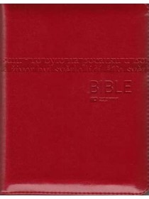 Bible ČEP + DT (1131) - zip, červená