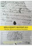 Hesla Jednoty bratrské 2022