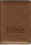 Bible Český studijní překlad - se zipem, bronzová (1152)