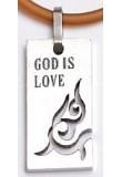 God is Love - Elastický náhrdelník