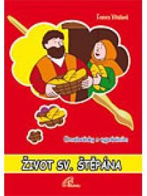 Omalovánky - Život sv. Štěpána