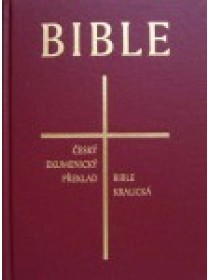 Česká synoptická Bible (měkká vazba-kůže)