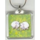Klíčenka s ovečkou